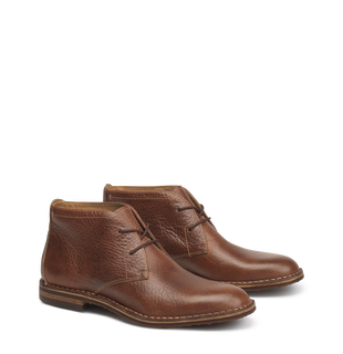 Trask Chukka Boots come in a variety of colors and materials including leather and suede.
