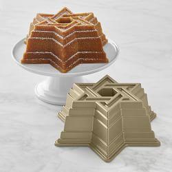 Nordic Ware Star of David Bundt Cake Pan made in the USA.$36.95. Williams Sonoma.