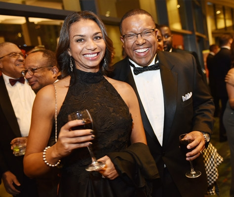 Guests at last year's Jazzy Holiday Gala. The fundraiser for the Harvey B. Gantt Center for African-American Arts + Culture is Dec. 2.