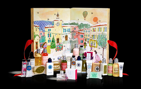 French brand L'Occitane's Signature Beauty Advent Calendar is filled with mini versions of 24 of its luxurious products including hand creams, soaps, shower gels, body lotions and more in one beautiful illustrated gift that will have the recipient thinking of you every day during the holidays. $69. The L'Occitane store at SouthPark mall, or click here to order online.