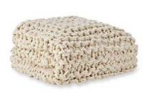 A soft and cozy blanket for a bed or sofa.Biltmore Chunky Knit Throw. $150. Belk.