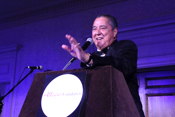 Host Felix Sabates at last year's Ambassador's Ball. The 2018 gala is Jan. 6 at Quail Hollow Club.