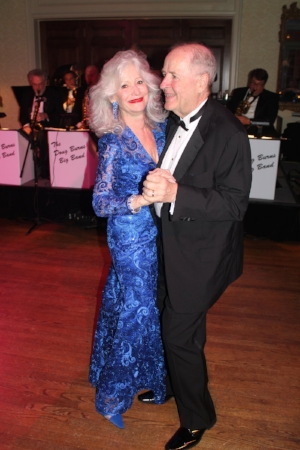 Gala chair Gail Brinn Wilkins and her husband Howard Freese at last year's Crown Jewels Ball. This year's gala to benefit arts education is Feb. 17 at Quail Hollow Club.