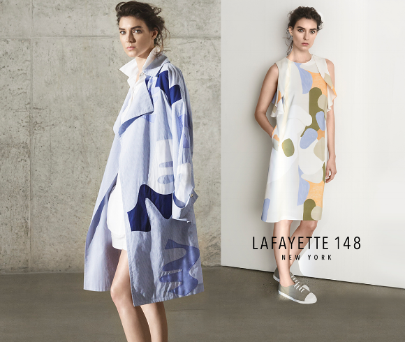 Shop the Spring collection from Lafayette 148 New York Jan. 18-20 at Paul Simon Women.