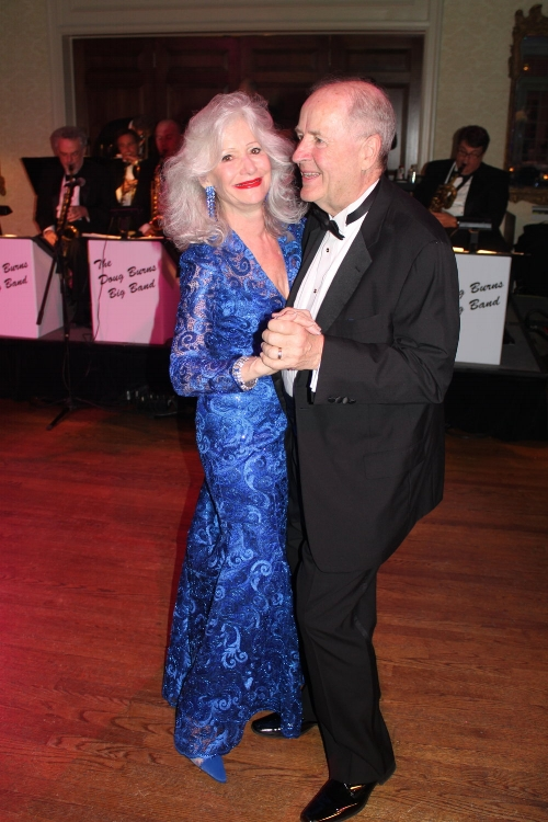 Gala chair Gail Brinn Wilkins and her husband, Howard Freese, dance at last year's fundraiser. Gala chair Gail Brinn Wilkins and her husband Howard Freese at last year's Crown Jewels Ball. This year's gala to benefit arts education is Feb. 17 at Quail Hollow Club.