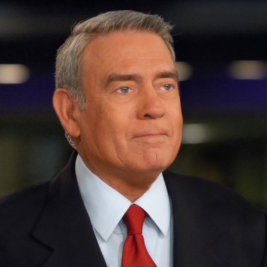 Broadcast journalist Dan Rather will speak in Charlotte Feb. 20 at Knight Theater.