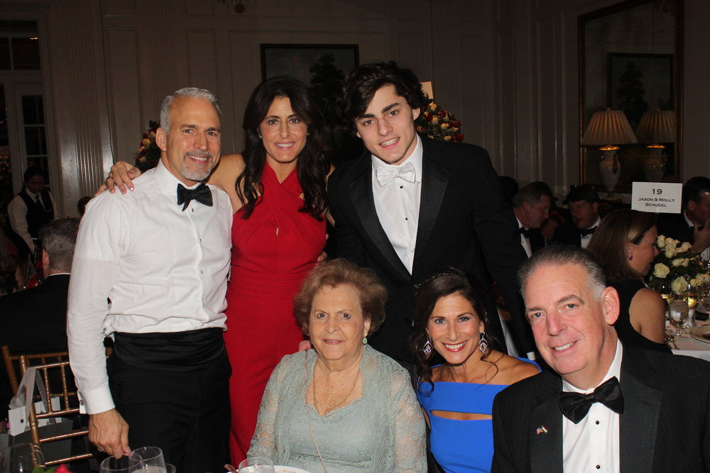 Standing, from left: Victor Sayegh, Christine Conte and Gianluca Conte. Seated, from left: Julia Sayegh, Donna de Molina and Al de Molina.