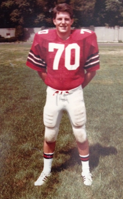 Dr. Finical has always been athletic, including playing Division III football.