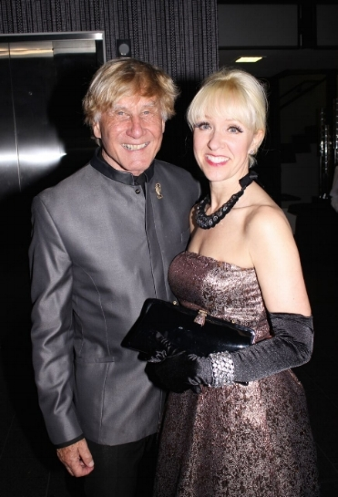 Andreas and Regine Bechtler at a past Bechtler Museum  of Modern Art gala. This year's fundraiser is April 20.
