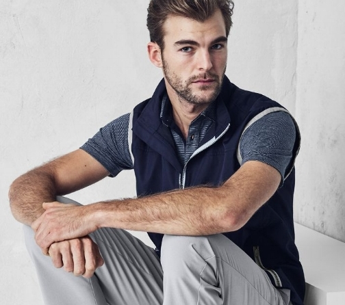 Look good on and off the course in J.Hilburn's innovative new golf line.