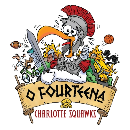 O Fourteena is the theme of the 14th annual Charlotte Squawks runs through June 24 at Booth Playhouse.