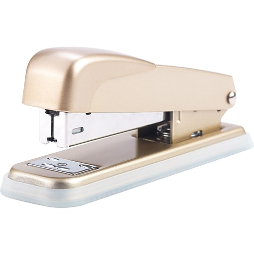 Cynthia Rowley Gold Stapler, $5.99. Staples
