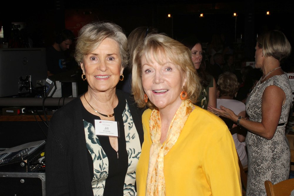 Jill Dinwiddie and Barbara McLaughlin.