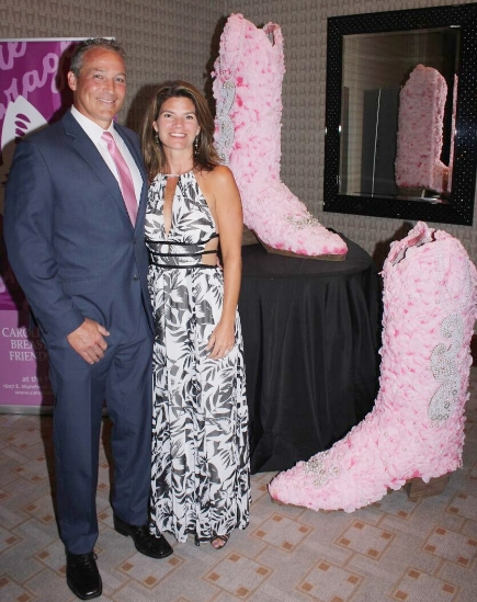 Guests at a previous Pink Boots Ball. This year's fundraiser for Carolina Breast Friends is Oct. 27 at the Ritz-Carlton.