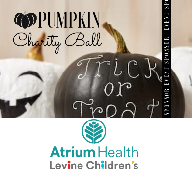 Put on your best black and white formal attire for the inaugural Pumpkin Charity Ball fundraiser on Oct. 26 at Ballantyne Hotel.