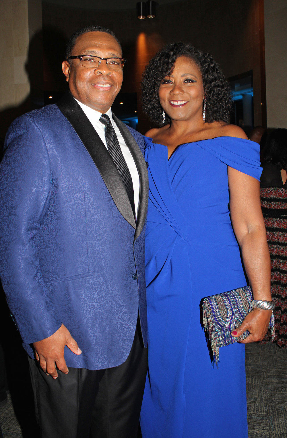 Gala chairs Jesse and Angela Cureton.
