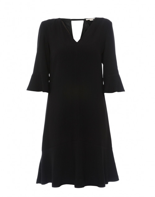 An LBD with sleeves . Seventy Black Crepe Dress, $365.