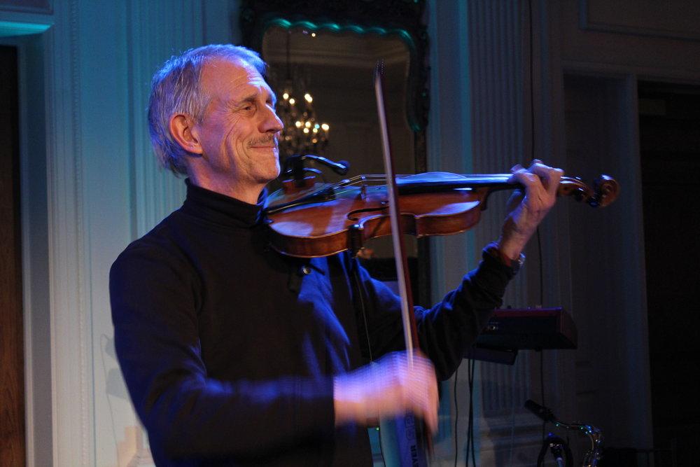 Violinist Dennis Spring