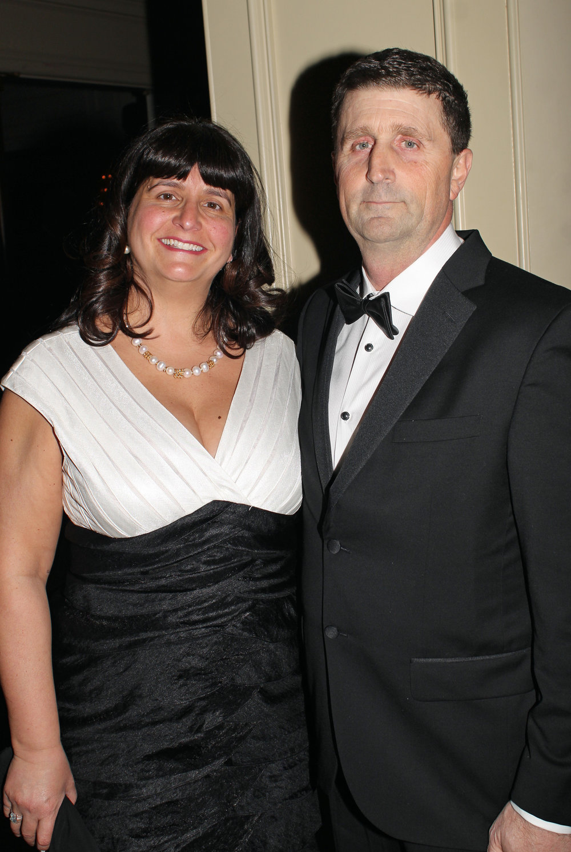 Katrina and Bruce Moffett.