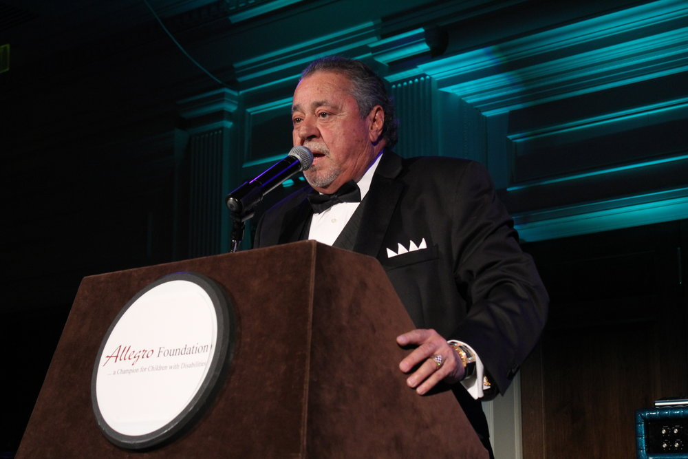 Felix Sabates, host of the Ambassador's Ball and owner of Felix Sabates Mercedes-Benz of South Charlotte.