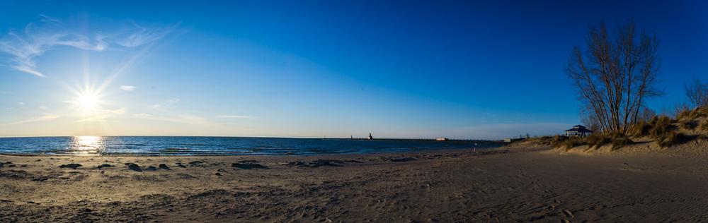 Silver Beach at Saint Joseph, Michigan