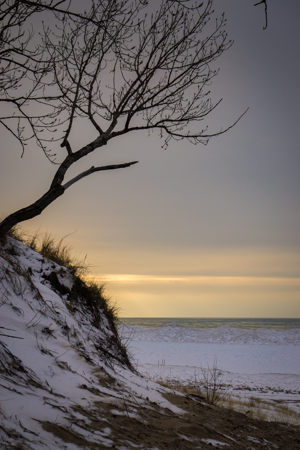 Sunset at Warren Dunes