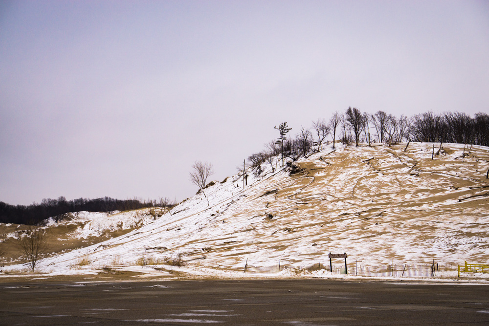 Enormous hill at Warren Dunes