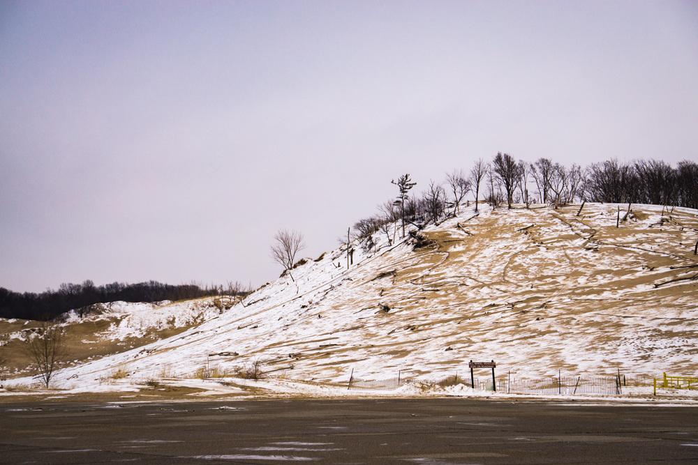 Enormous hill at Warren Dunes