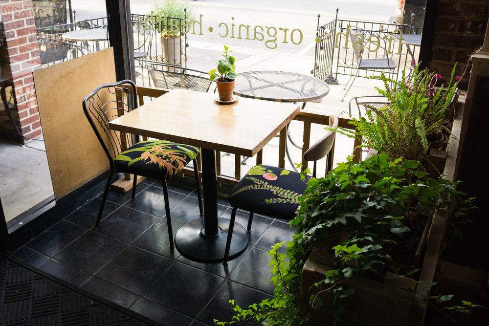 Seating for Two at Roots Organic Juice Cafe