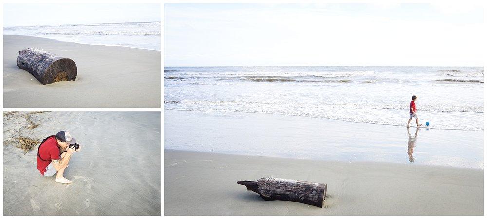 Photographing Sullivans Island Beach
