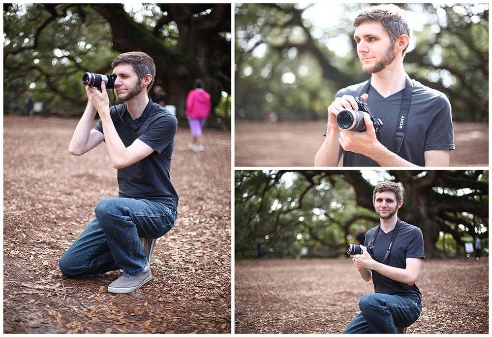 Portrait shots of Christopher Casson courtesy of Ron Delhaye