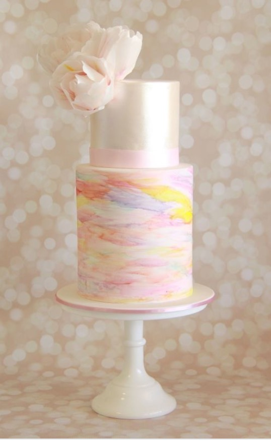 Cake created by Savvy Fare