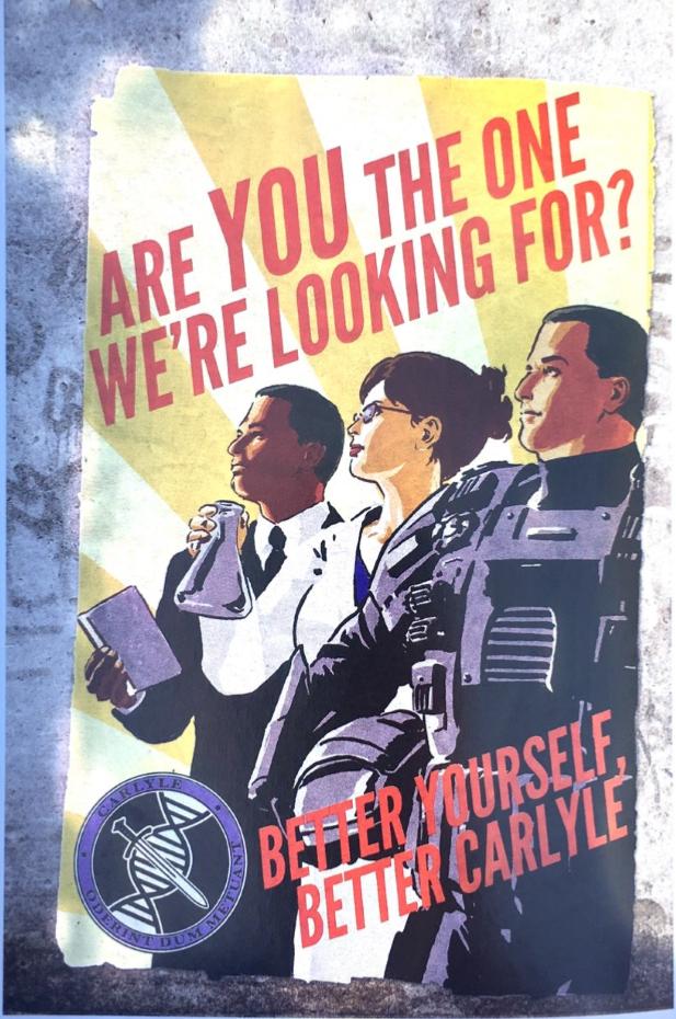 Carlyle propaganda poster
