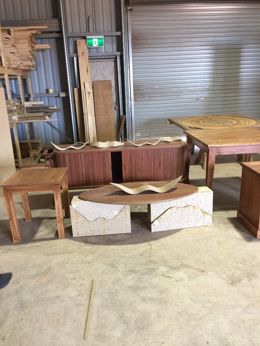 East arnhem regional council recently took receipt of the first deliveries of furniture from manapan furniture a local indigenous furniture business based