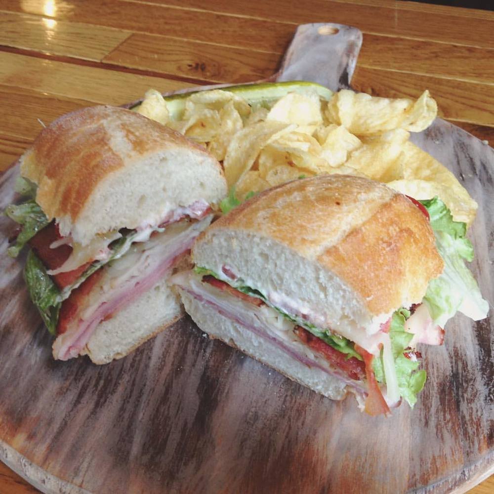 "Sandwich special- ""The Clubhouse"""