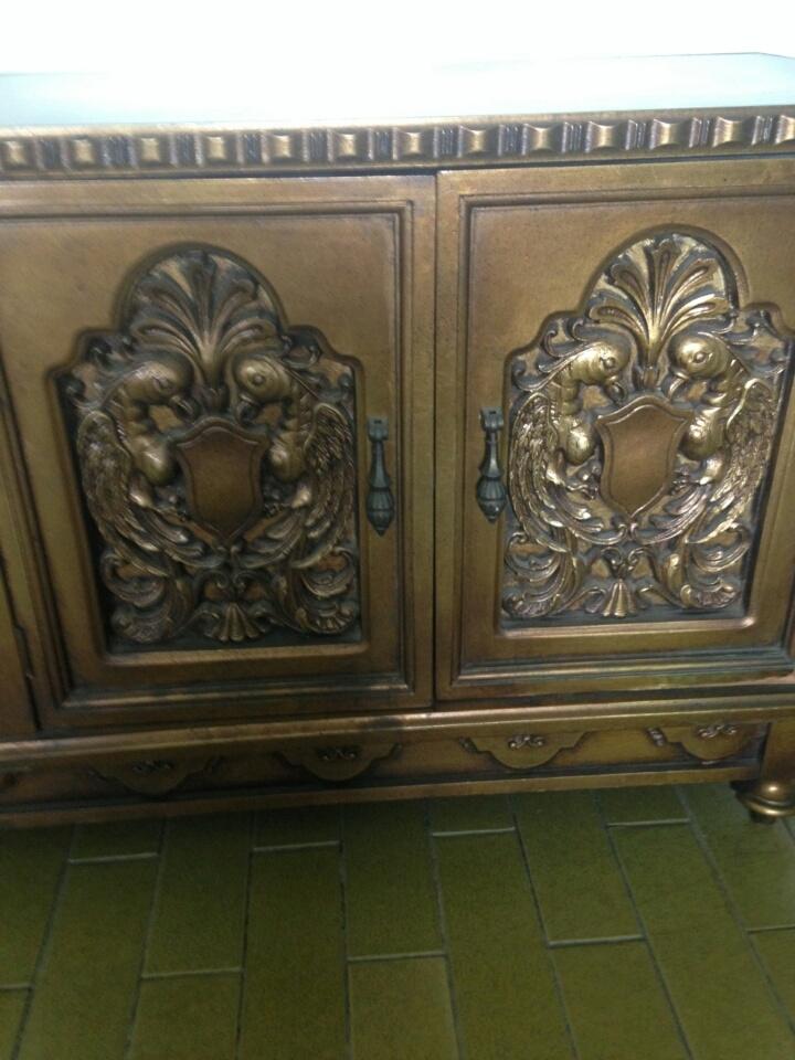Antique entry way piece