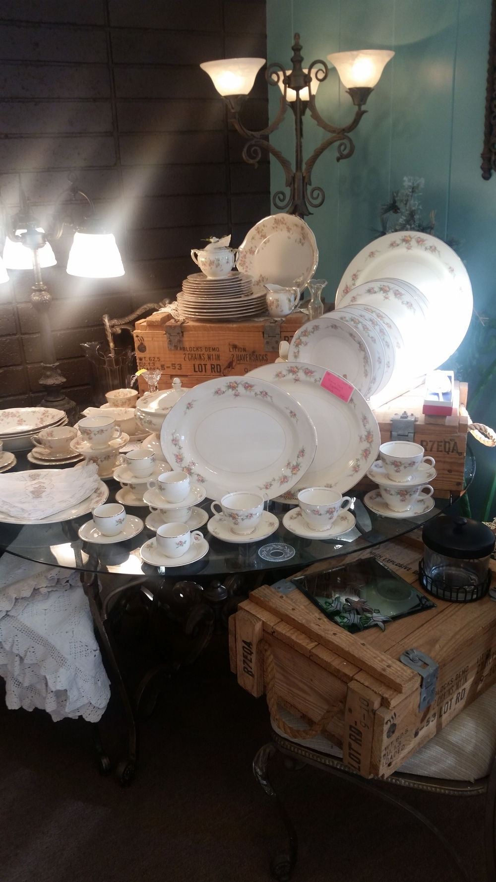 Milk Glass and more...