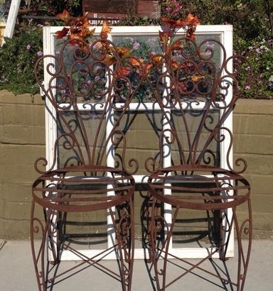 Patio Rustic Chair Set