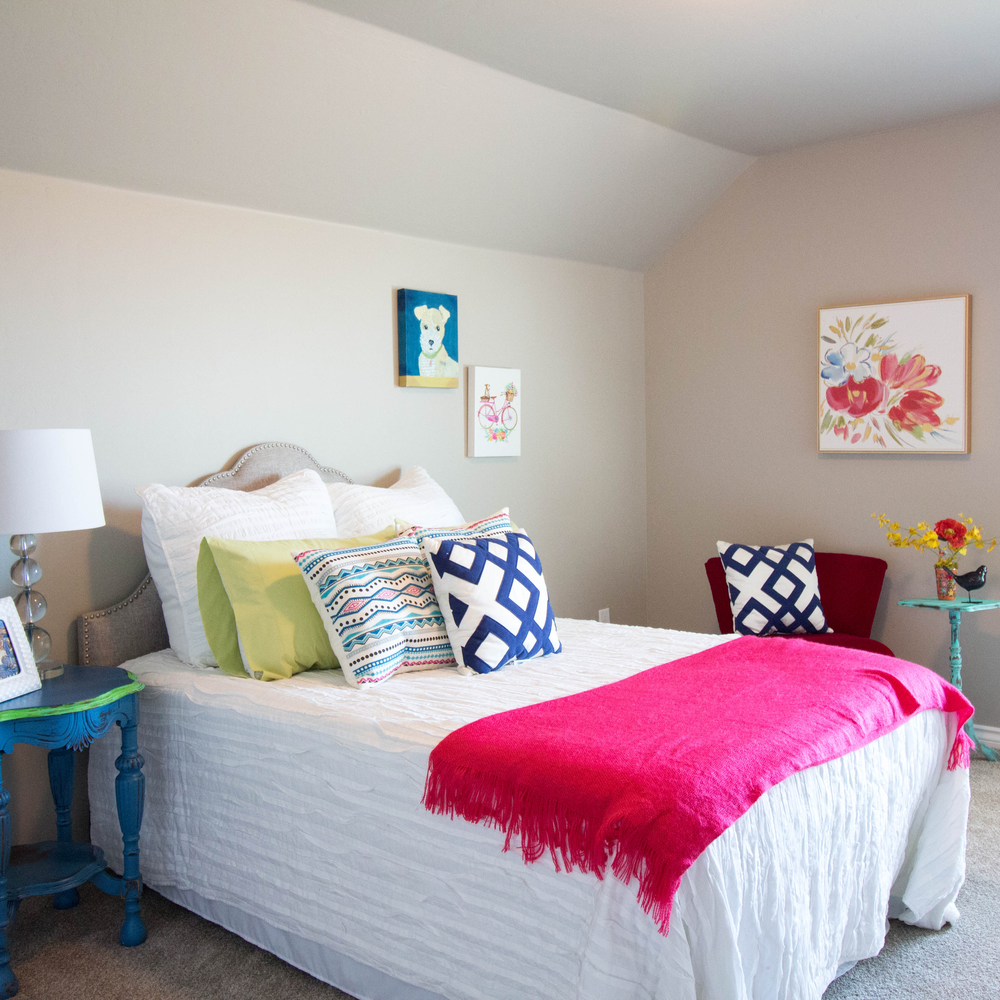 Remarkable Spaces Home Staging Girls Room