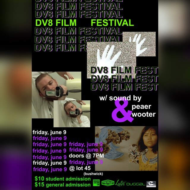 It's never too early to think of Friday night plans💁🏽 Buy your tickets to DV8: Year Three TODAY! 📹🔥🎥💃🏻🎞 Link in bio  #film #filmfestival #super8 #minidv #kodak #music #events #brooklyn #bushwick #itslit🔥#poster