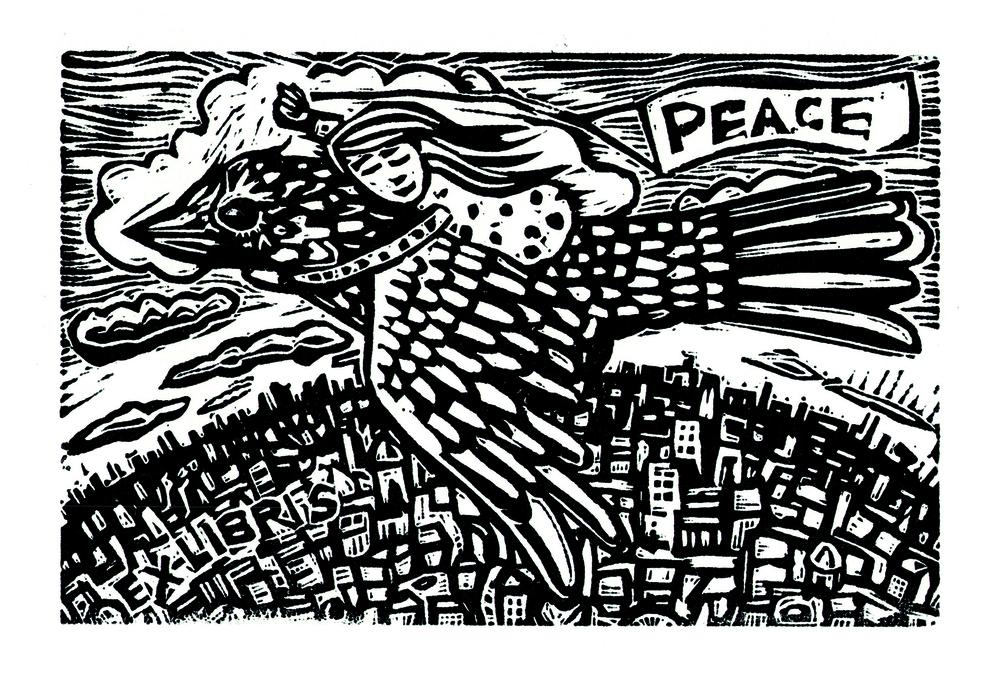 Ex-Libris Peace