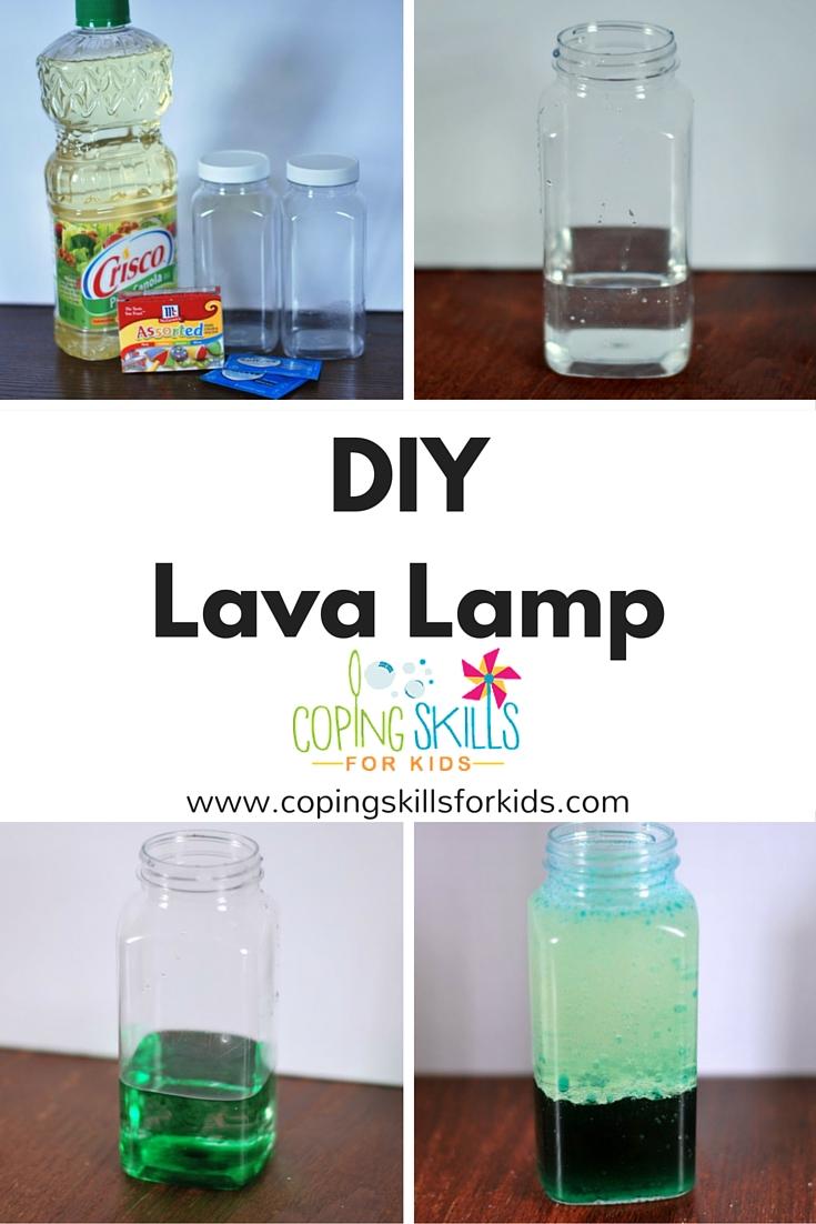 Coping Skills Spotlight Homemade Lava Lamp