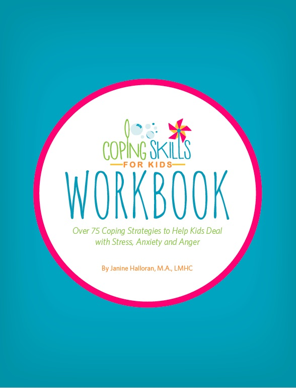"The Coping Skills for Kids Workbook is available now! Praise for the Workbook: ""an excellent resource for parents (and educators) who want to help the children in their lives learn important, timeless skills for self-soothing.  Filled with concrete suggestions and instructions, this workbook allows parents to teach their kids to cope with the stressors that they will inevitably encounter in their day to day lives."" -Dr. Samantha Rodman, Psychologist, Author of How to Talk to Your Kids about Your Divorce, and creator of www.drpsychmom.com ""with all of these strategies in one place it will definitely be my ""go-to"" book for a long time in my work as a child psychologist and play therapist."" Dr. Laura Hutchison, Psychologist and creator of blog.playdrhutch.com"