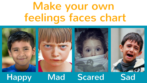 Make Your Own Feeling Faces Chart Coping Skills For Kids