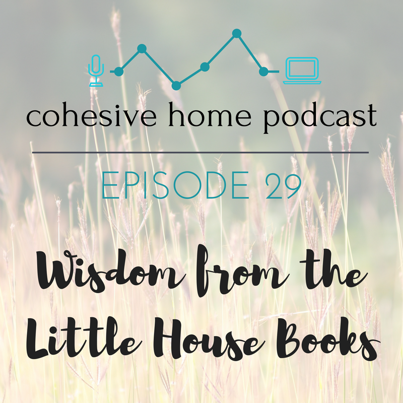 "Johnny cakes, locusts, and creating homes: in episode 29, Kate and Melissa share the lessons they've learned about living simply from reading the ""Little House"" book series with their children. The two chat about everything from free-range play and responsibility for kids, keeping foods simple, and the risk with buying things on credit. Melissa also shares some exciting news, and Kate gives an update on her pregnancy."