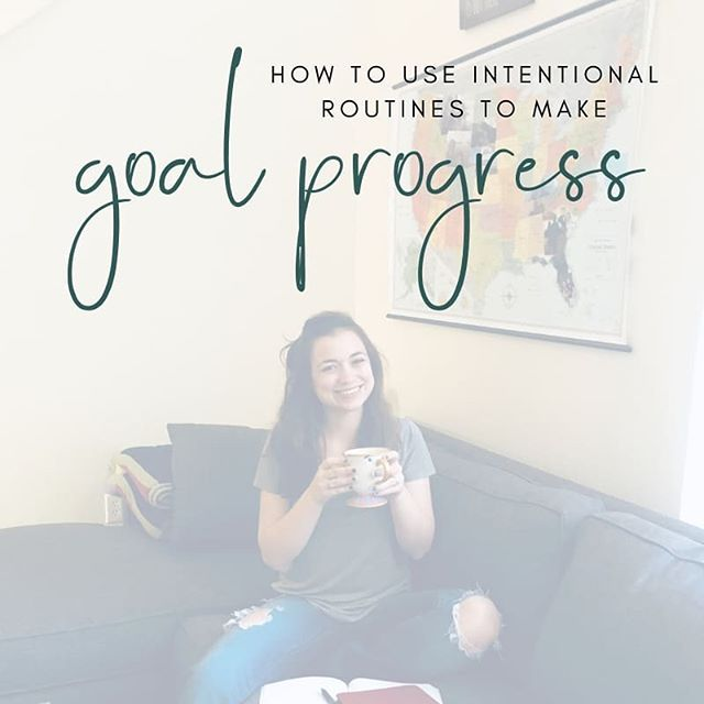 NEW ARTICLE ON INTENTIONAL GOAL SETTING!** Head to our website (#linkinbio) to read some practical and encouraging advice on setting goals with intention from our friend @mrsamandawarfield.