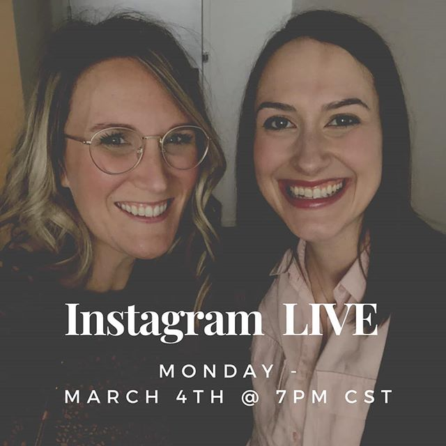 Hey homies, will you join us Monday at 7pm CST for an Instagram LIVE with us? Got some news to share with you!