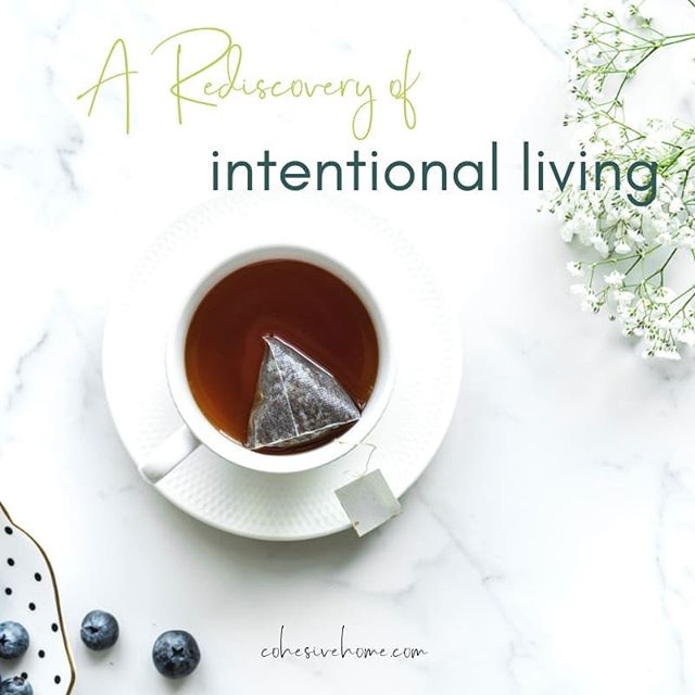 Today on the Cohesive Home Journal, Ashley @ashleyknilsson is sharing how she found her way back to a more intentional life. Head to our website for an inspiring weekend read!