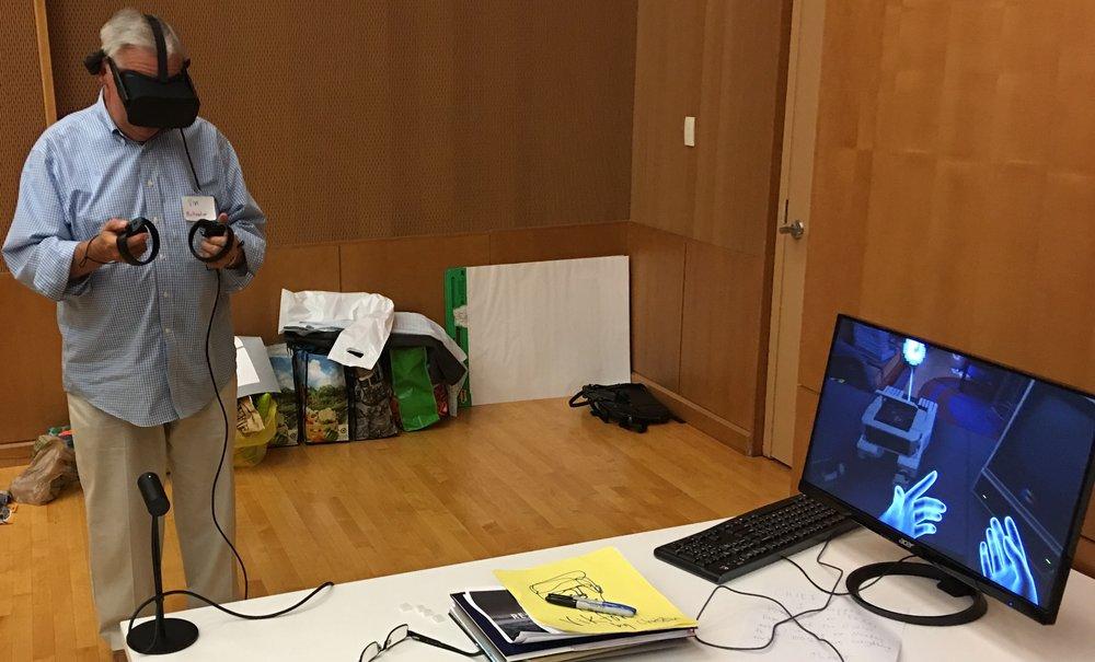 Playtesting the Oculus Rift