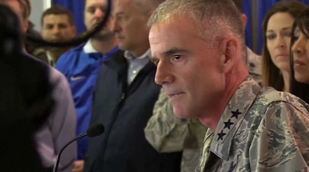 Lt. Gen. Jay Silveria addresses the US Air Force Academy and its prep school about racial slurs found on the dormitory message boards of some black students.